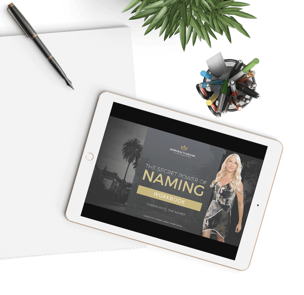 The Secret Power of Naming Workbook - Hero image